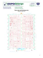 Floor plan and Exhibitors list