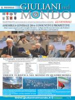 assemblea generale 2014 - Associazione Giuliani nel Mondo
