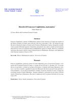Ricordo di Francesco Guglielmino, matematico†