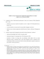 01/08/2014 - Gruppo Banca Carige