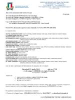 FEDERAZIONE ITALIANA RUGBY - Comitato Regionale Toscano