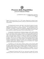 Memoria di Francesco Greco su autoriciclaggio
