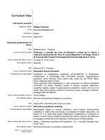 Europass CV - CampusNet - Università degli Studi di Torino