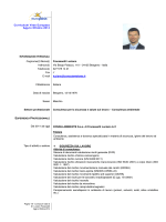 Curriculum Vitae Europass Agg.to Ottobre 2014