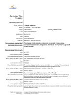 Curriculum Vitae completo