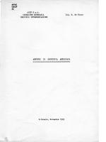 GEOF 42 Appunti geofisica applicata. B. de Nisco 1961