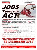 JOBS Telecom ACT - controcomunicando