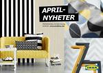 APRIL- NYHETER