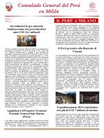 Boletín, mayo 2014 - Ministerio de Relaciones Exteriores