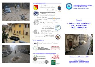 brochure - Collegio dei Geometri della provincia di Catania