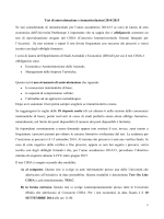 Test di autovalutazione e immatricolazioni 2014/2015 Se stai