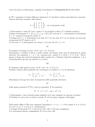 28 04 14 - Dipartimento di Matematica e Informatica