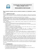 Regolamento - Fipsas Bologna