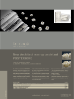 New Architect wax-up assistant POSTERIORE