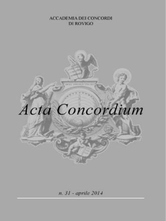 aprile - Accademia dei Concordi