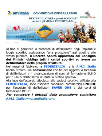 convenzione - Federitalia