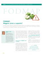 FODMAP: Maggiori prove a supportoE