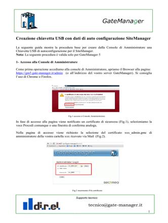 clicca qui per scaricare la guida per creare un file di configurazione