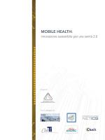 MOBILE HEALTH: innovazione sostenibile per una sanità 2.0