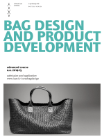 bag design and product development