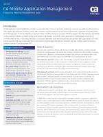 CA Mobile Application Management