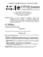 Bando e Capitolato Gara PAC ADI Anziani