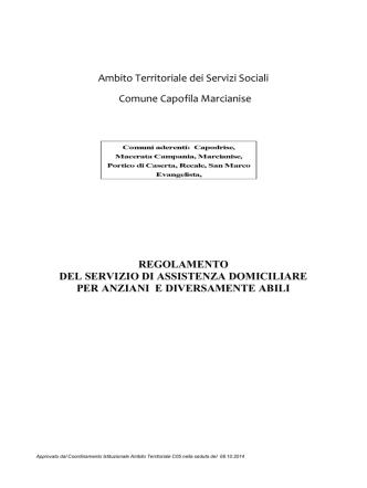 05 Regolamento - Comune di Macerata Campania