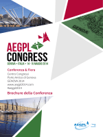 Brochure della Conferenza