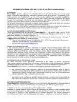 (Codice privacy) a) Premessa Finam Media Srl