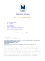 30 aprile 2014 - Comunità del Garda