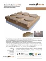 Pavimento Radiante in cementolegno e polistirene