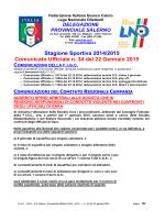 c.u. 34 - FIGC