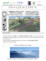 Vennspitze 2390 m -Valsertal (Austria)