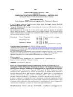 Campionato Interprovinciale Sv-im 2015