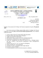 avviso n. 113 - Istituto Comprensivo Resta – De Donato Giannini | Turi