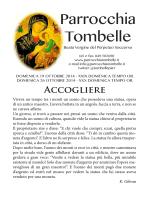 Parrocchia Tombelle - Parrocchia di Tombelle