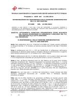 Determinazione n°1606 del 12.06.2014.