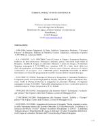 Curriculum e pubblicazioni - Università degli studi di Bergamo