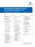 CGA Assicurazione perdita di salario per malattie, Versione 1/2015