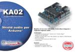 Shield audio per Arduino®