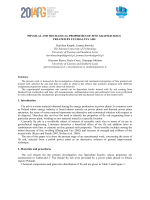 PHYSICAL AND MECHANICAL PROPERTIES OF FINE GRAINED
