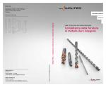 Manuale prodotti Walter Titex Foratura