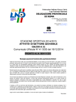 Com. Uff. LND SGS ROMA ALP-ALB-GIP
