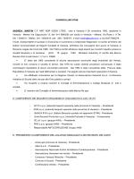 curriculum vitae - Esercizio Raccordi Ferroviari di Porto Marghera Spa