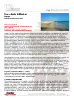 Tour e Isola di Masirah Oman