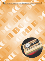 Alesametri e comparatori / Bore gauges and dial indicators