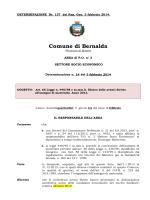 R.G. n. 137 - 14 - Determina assegno di maternità 2013