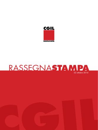 22_10_2014 - CGIL Basilicata
