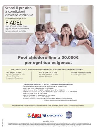 Agos - FIADEL Sardegna