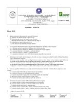 Scienze - Fondazione Liceo Crespi